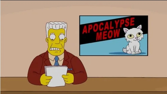 Image of Actual image from Simpsons episode not mentioning Coronavirus