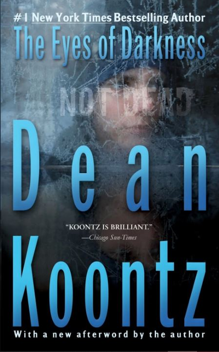 Image of Dean Koontz fictional and thriller novel 'The Eyes of Darkness'
