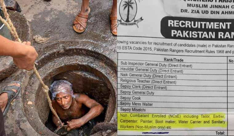 Pak Army Reserves Sanitary Workers for Non-Muslims Only: Fact Check