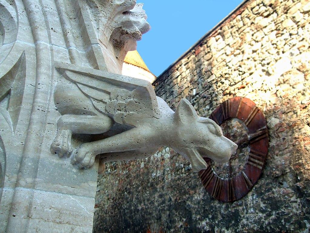 Image of Gargoyle on Zagreb Cathedral, Croatia