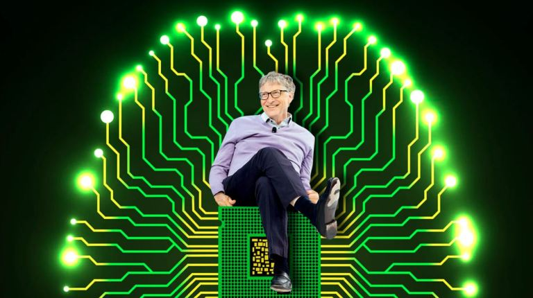 Image about Bill Gates Will Use Microchip Implants to Fight Coronavirus