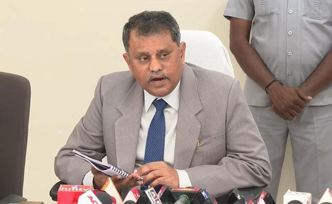 Image of Sacked SEC of AP, N. Ramesh Kumar