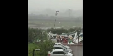 Image about Cyclone Amphan Havoc at Digha, West Bengal - Video