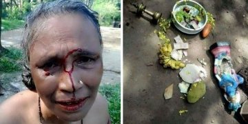 Image about Hindu Woman Beaten in Kerala for Idol Worshiping