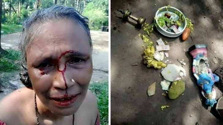 Hindu Woman Beaten in Kerala for Idol Worshiping: Fact Check