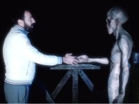 Image about Alien Makes Contact With Human, Video
