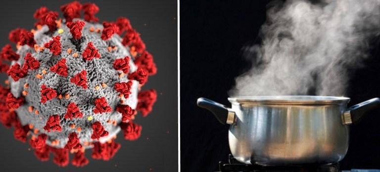 Chinese Killing Coronavirus with Hot Steam Inhalation: Fact Check