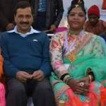 Image about Kejriwal Sitting Close to Human Trafficker Prabha Muni