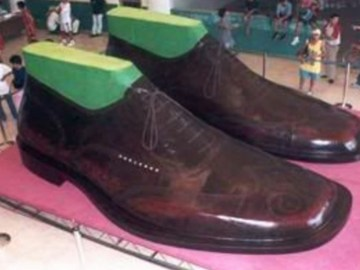 Image of Largest Pair of Shoes in the World, Photograph
