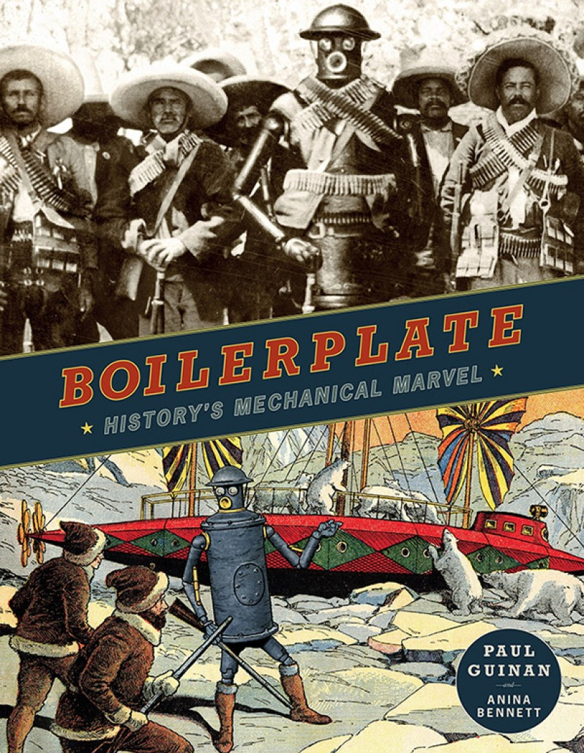 Image of Boilerplate as History's Mechanical Marvel on hardcover book