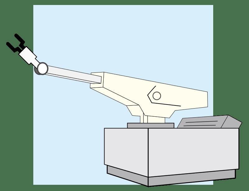 Sketch of a Unimate Robot