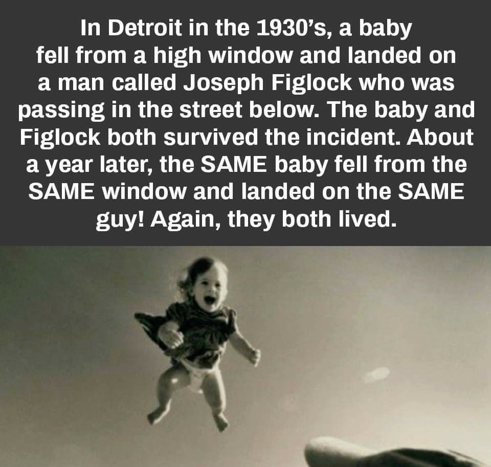 Image about Baby Fell Twice on Joseph Figlock - Extraordinary Save