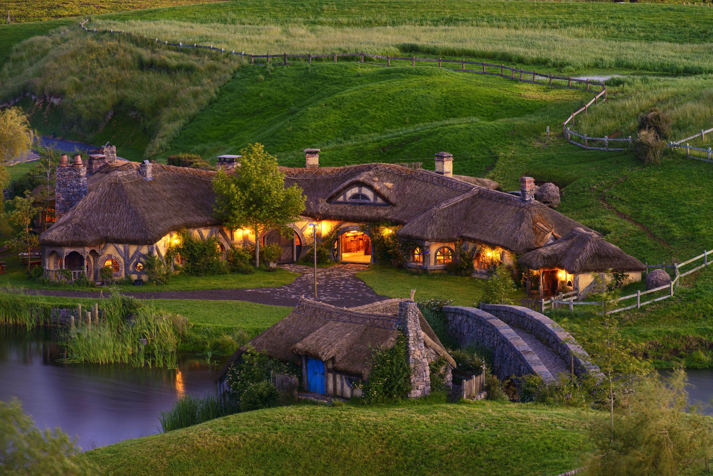 Image result for hobbiton movie set