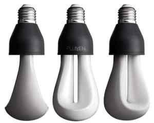energy saving light bulb that produces warm light