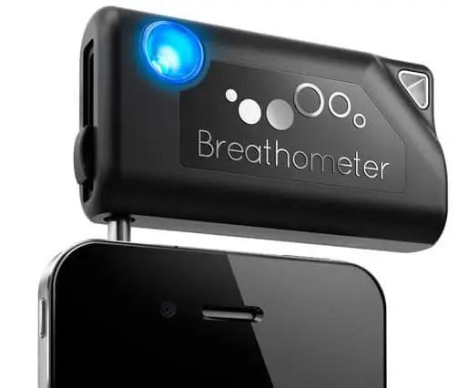 Breathometer smartphone breathalyzer
