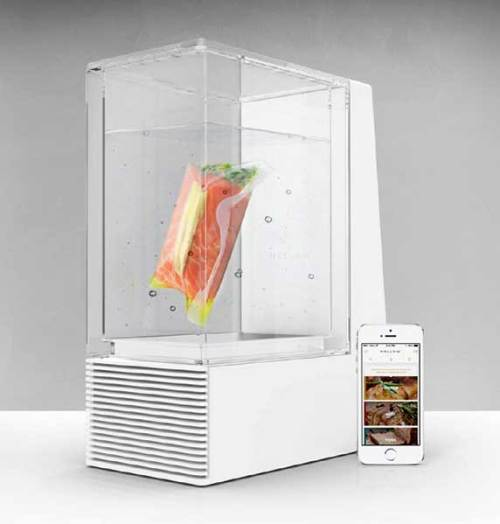 Mellow app connected sous vide cooker