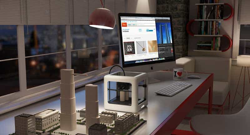 Micro, first consumer 3D printer