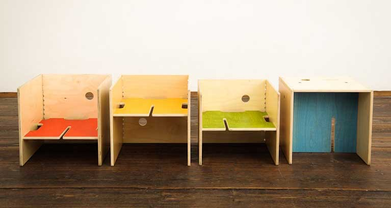 Maxinthebox modular furniture for kids