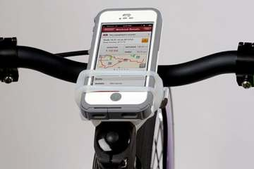 Handleband bike phone mount