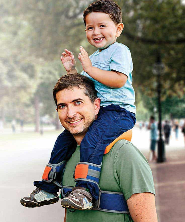 SaddleBaby child carrier
