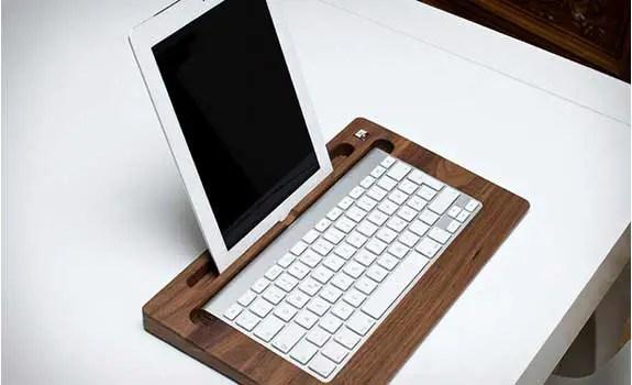 Woody's TabletTray for Apple's iPad / iPad Air / iPad mini and Wireless Keyboard