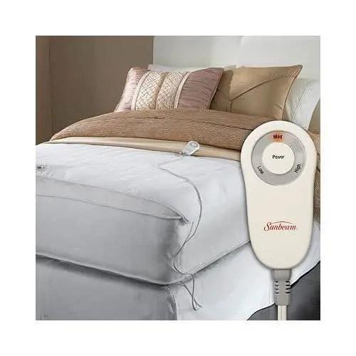 bed foot warming pad
