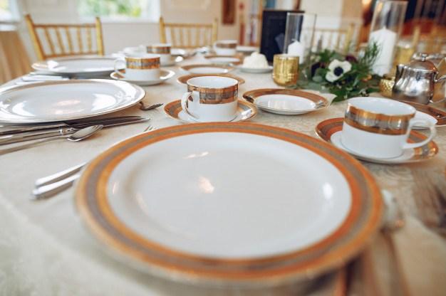 porcelain plates