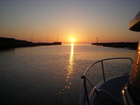 Angeln Bornholm auf Lachs