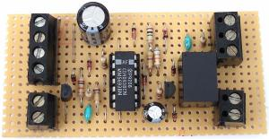 An Enhanced Shed  Garage Alarm circuit diagram and instructions