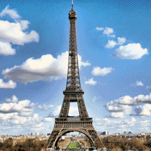 MyHobby borduurpakket - Eiffeltoren Parijs
