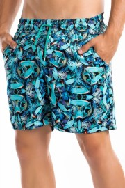 Pantaloneta 2085 Azul Pacific Hobby
