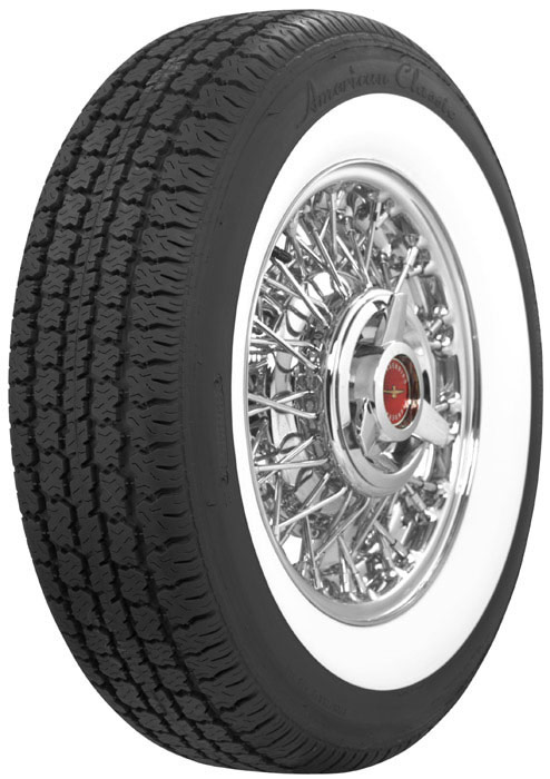White 1 Wide Wall Inch Tires