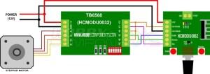 Pulse  PWM generator for stepper motor drivers