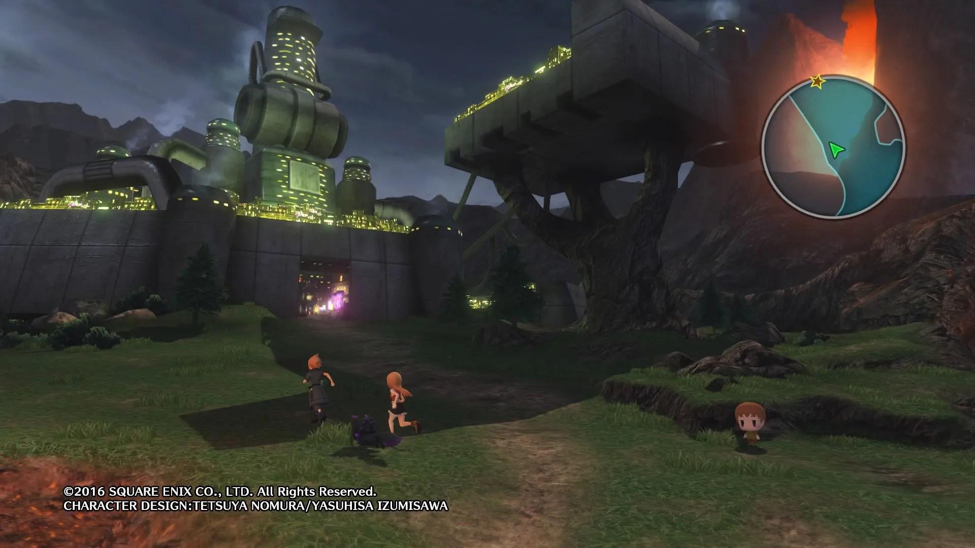 Image result for world of final fantasy nibelheim
