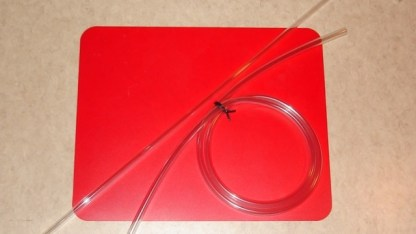 RACKING CANE 12″ SIPHON KIT w/TIP & 5′ HOSE FITS ALL GALLON JUGS & 2 GAL BUCKETS