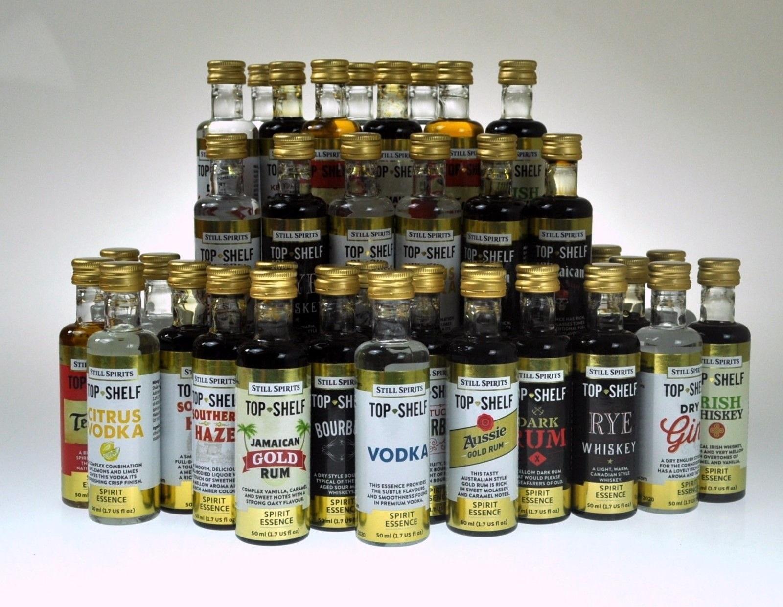Top Rums 2020.Top Shelf Black Sambuca Essence By Still Spirits