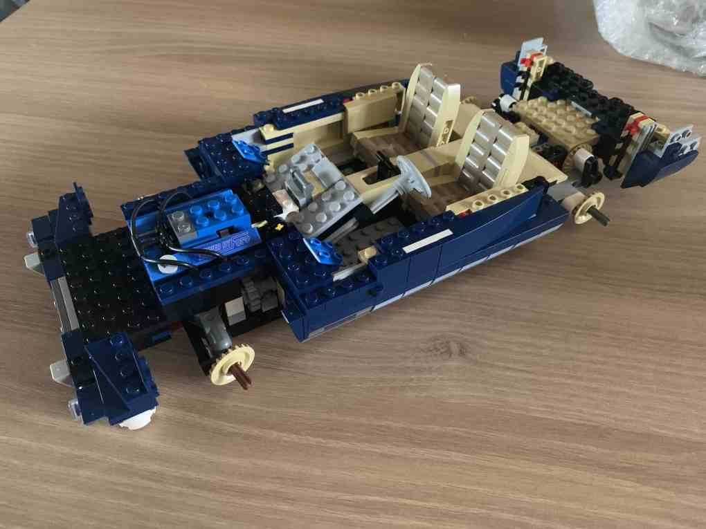 Lepin Ford mustang review part 3