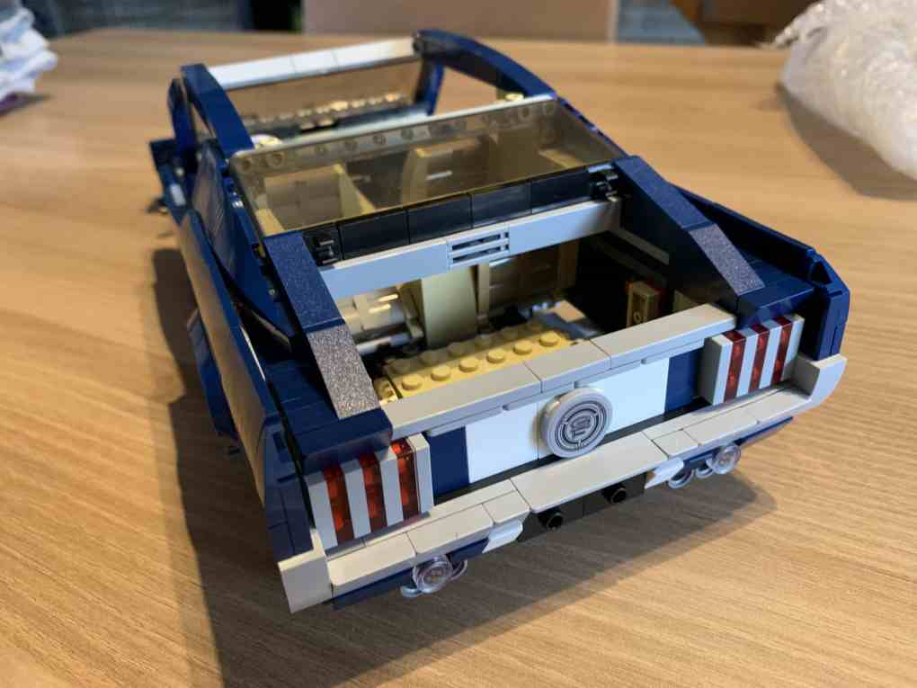 Lepin Ford mustang review part 4