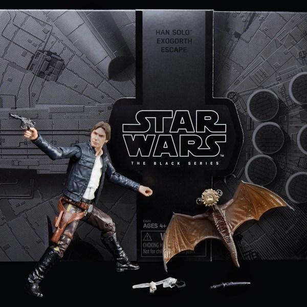 """HASBRO Star Wars The Black Series 6"""" SDCC 2018 Han Solo Exogorth Escape"""