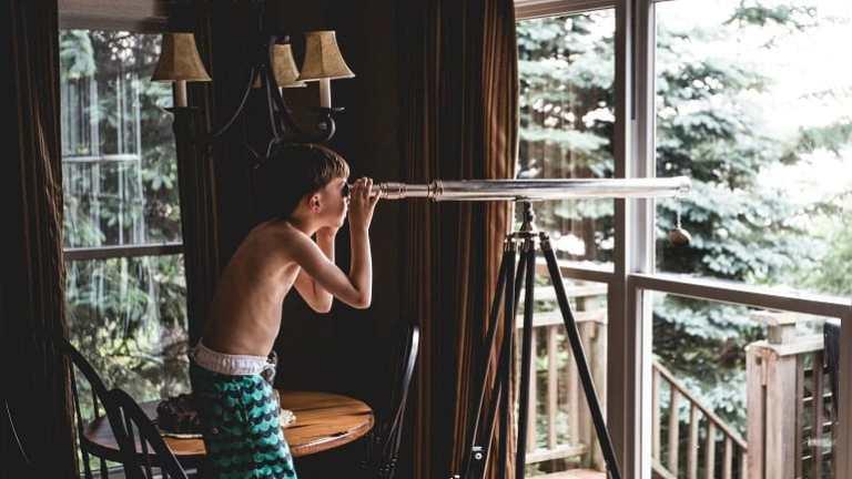 Teleskop Junge