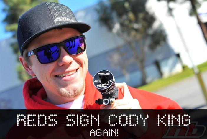 REDS Racing signs Cody King again!