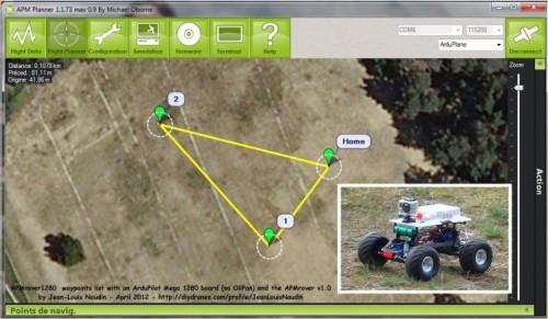 automodello-robot-rover-mappa