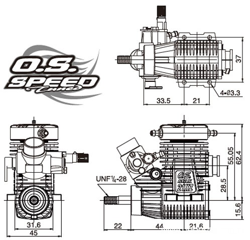 os-speed-max21xz-b