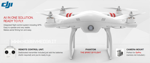 dji-phantom-drone-uav-quadricottero-rc