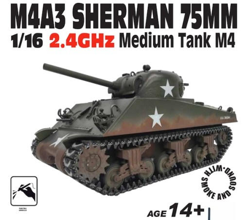 carro-armato-softair-sherman-m4a3
