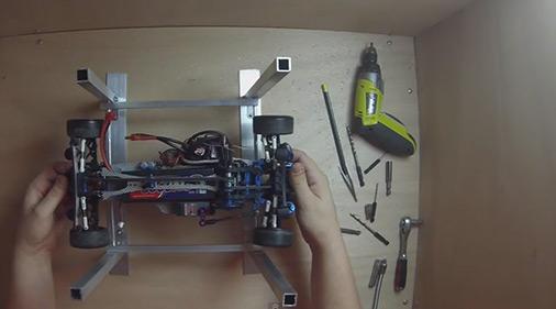 Come Costruire Un Ponte Sollevatore Per Auto 1 10 Video Hobbymedia