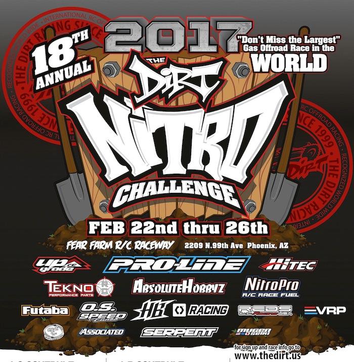 2017 dirt nitro challenge rc