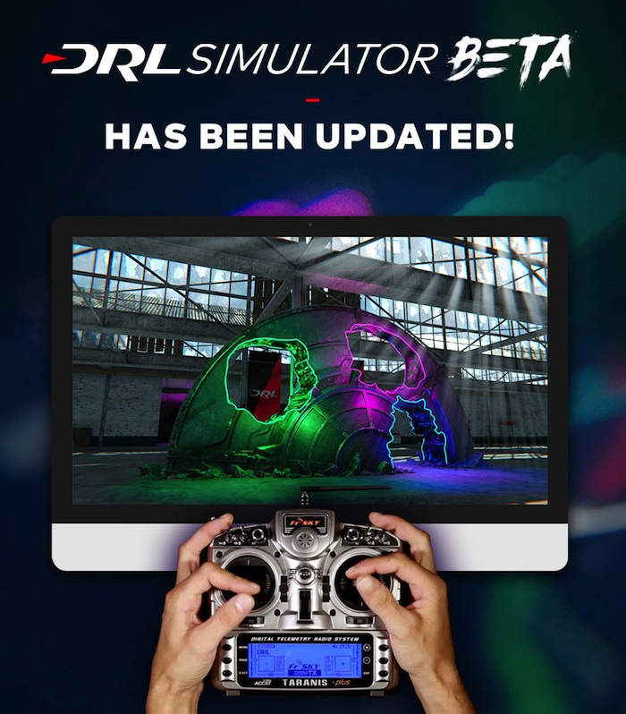 drone racing league simulatore pc