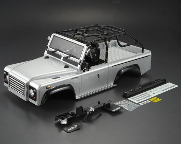 Carrozzeria Marauder Land Rover Silver Killerbody