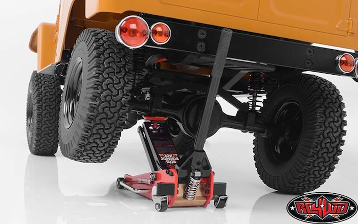 RC4WD Metal Hydraulic Jack- il cric a carrello idraulico AXIAL